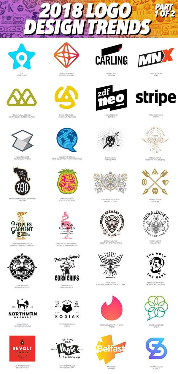 2018 Logo Trends - Part 1 of 2