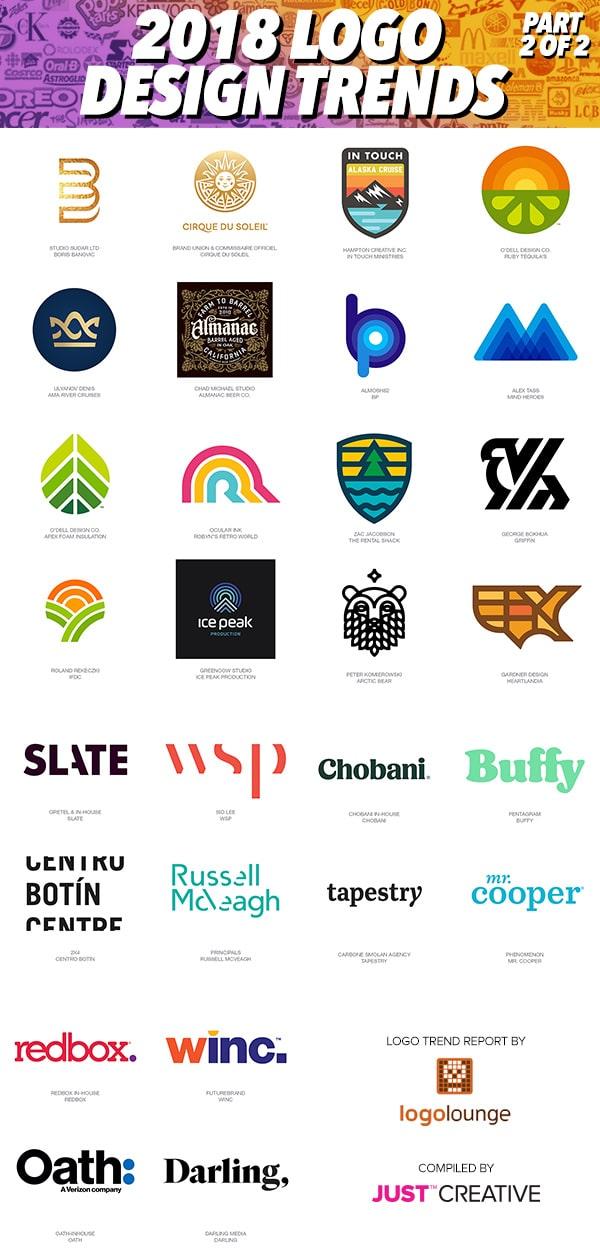 2018 Logo Trends - Part 2 of 2
