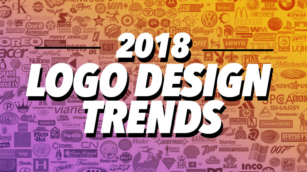 Design Trending Inspiration: 2018 Top Best Logo Designs + Trends & Inspirational