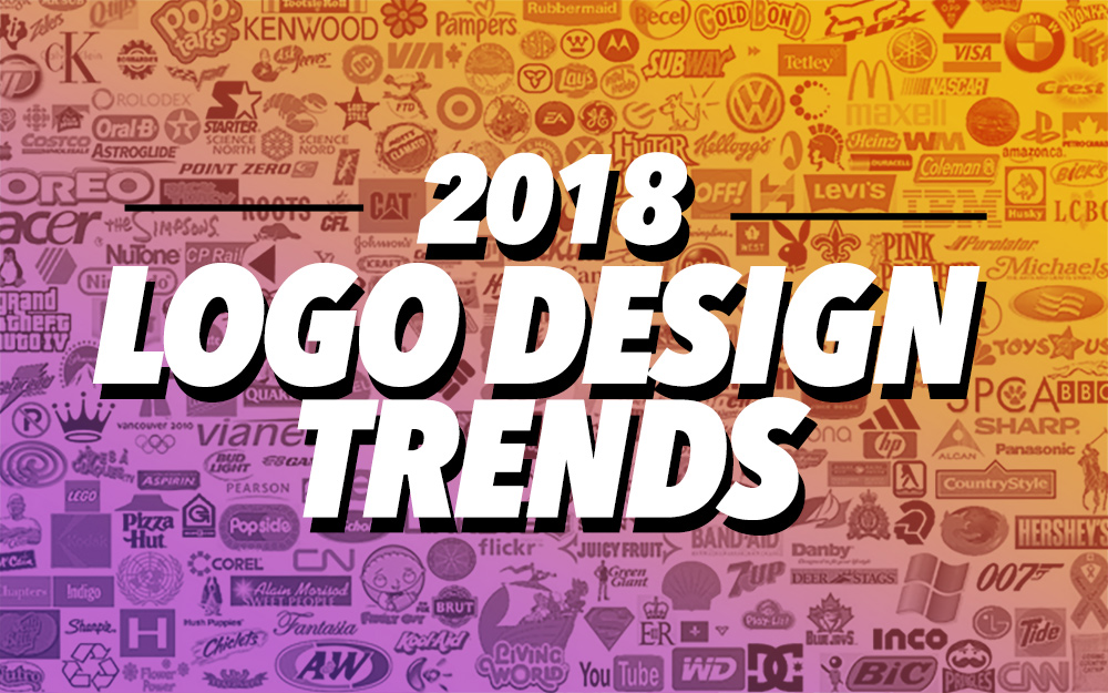2018 top best logo designs trends inspirational showcase just