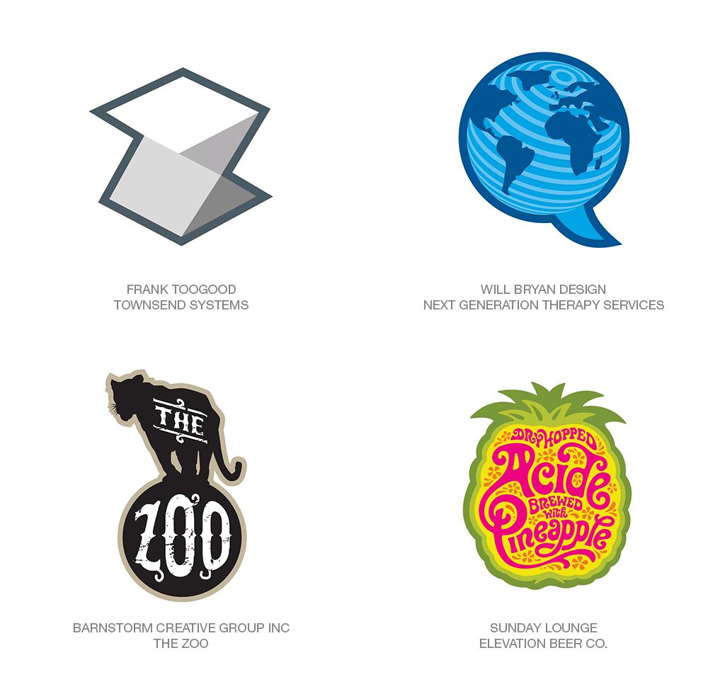 Logo Design Trend 2018: Outline