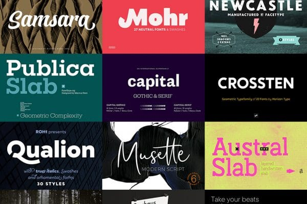 Dynamic Font Bundle