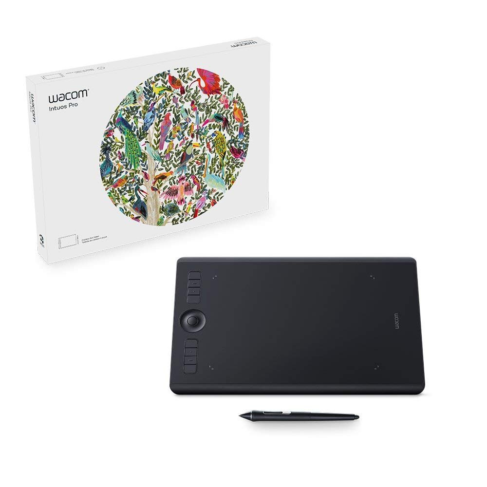 Wacom Intuos Pro Digital Graphic Drawing Tablet