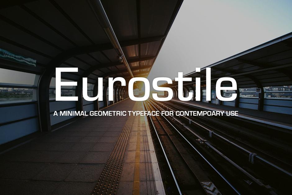 Eurostile Font