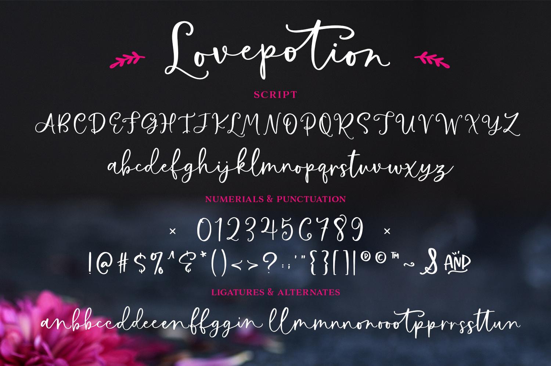 Love Potion Font Script