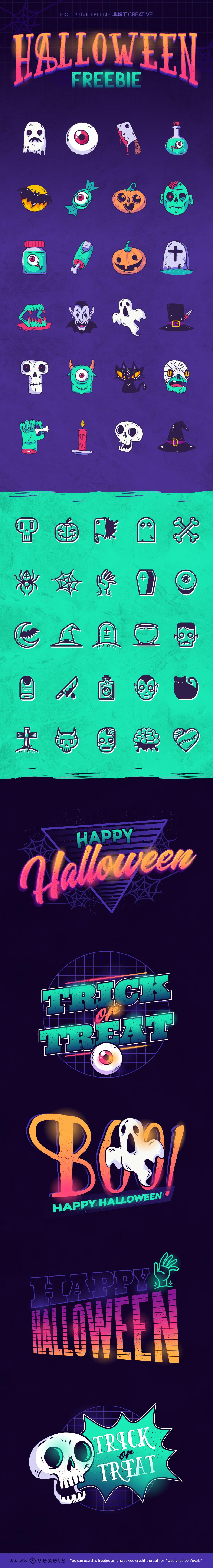 Halloween Vector Free Download