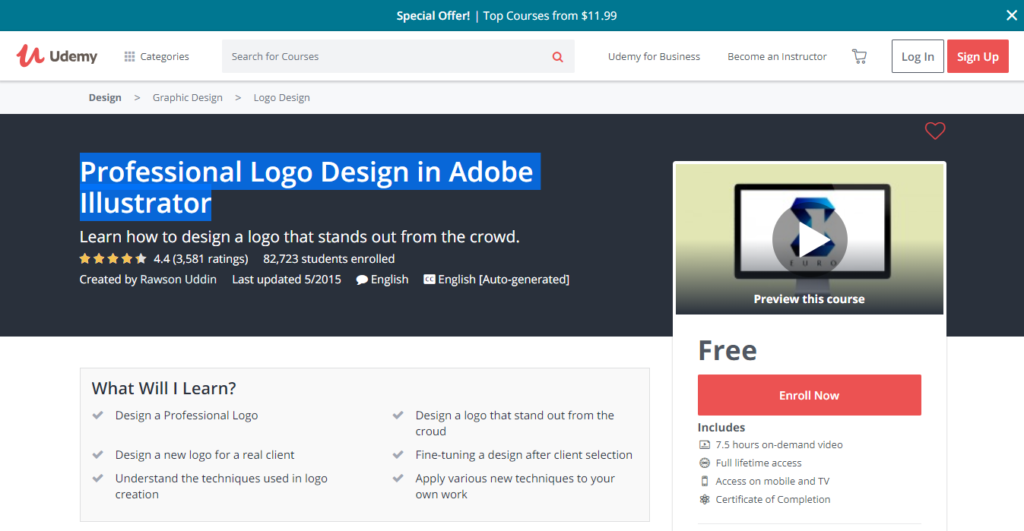 10 Best FREE Graphic Design Courses Online: Teach Yourself | JUST