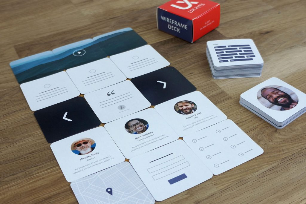 Wireframe Cards