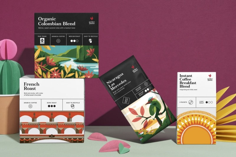 Graphic Design Trend - Oldstyle Packaging