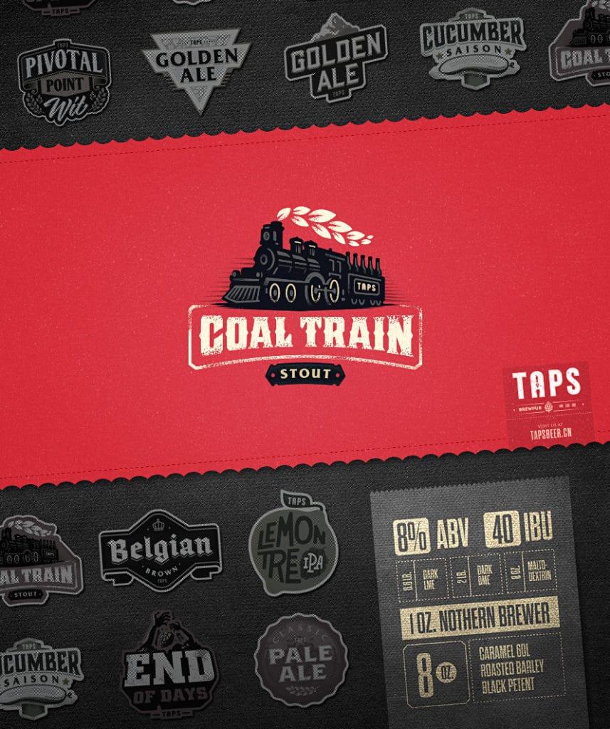 Coal Train Logo