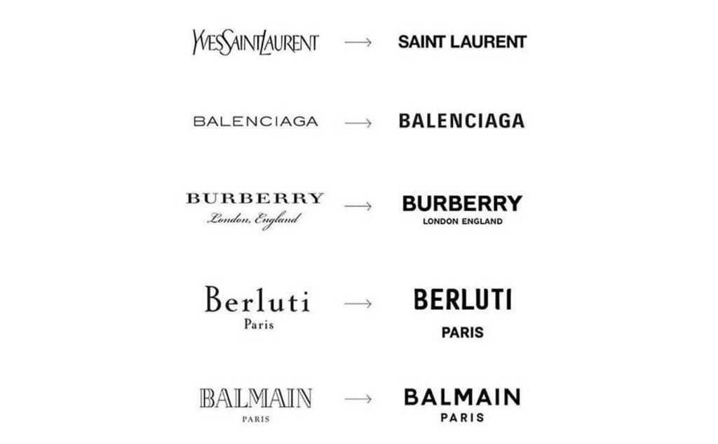 Fashion Logos Rebranding