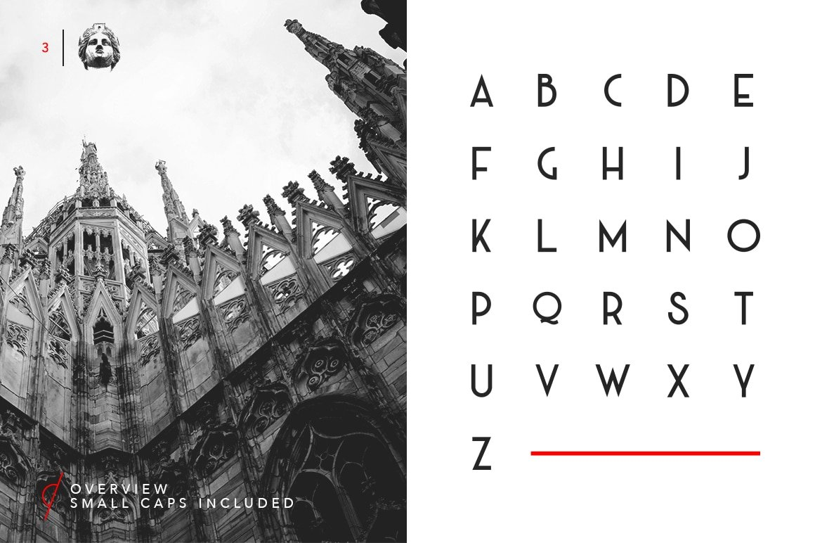 Milano Font Preview