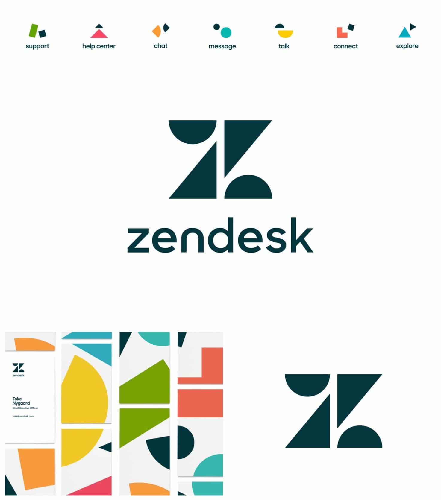 Geometric Logo Design Trend