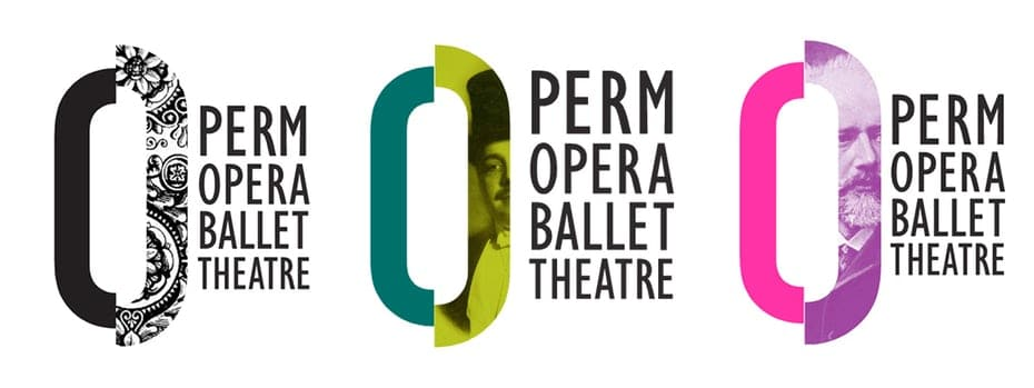 Perm Opera Ballet Theatre Variable Logo Example