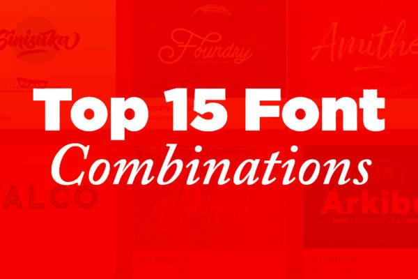 Top Google Font Combinations