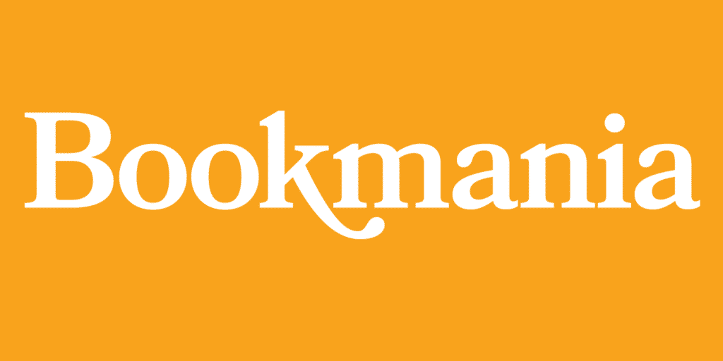 Bookmania Font - Classic Logo Design