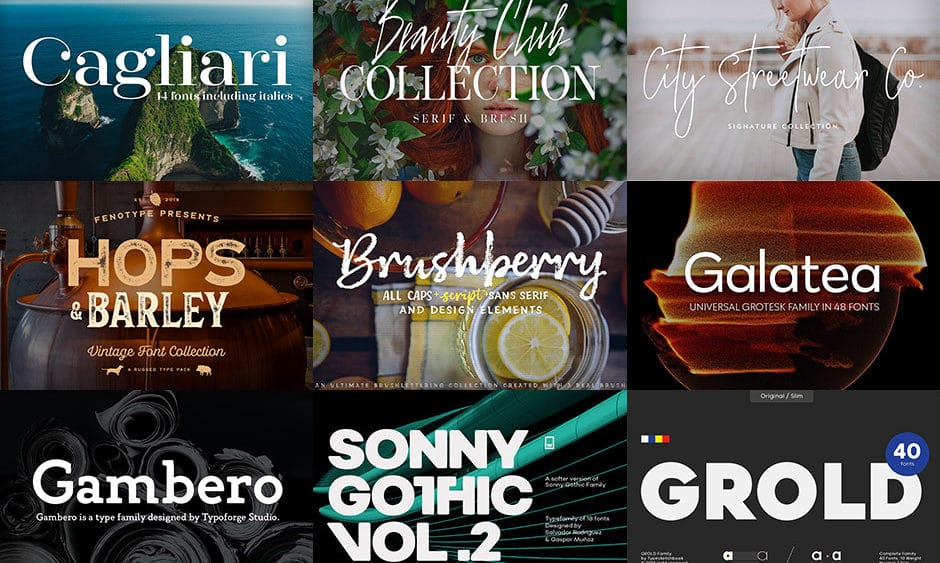 15 Pro Font Families (JUST $29) - Deal Ends March 4th | JUST™ Creative