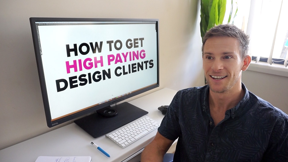 How to get high paying design clients