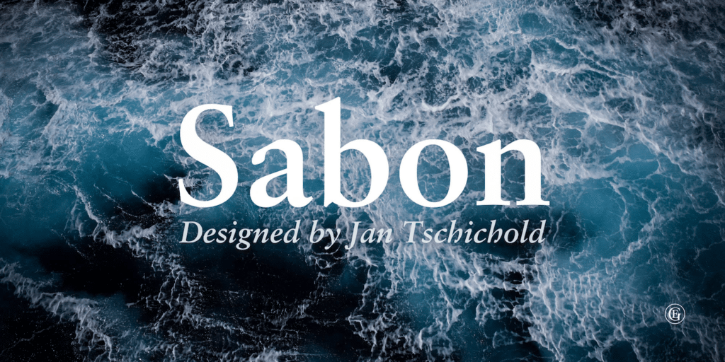 Sabon Classic Font for Elegant Logos