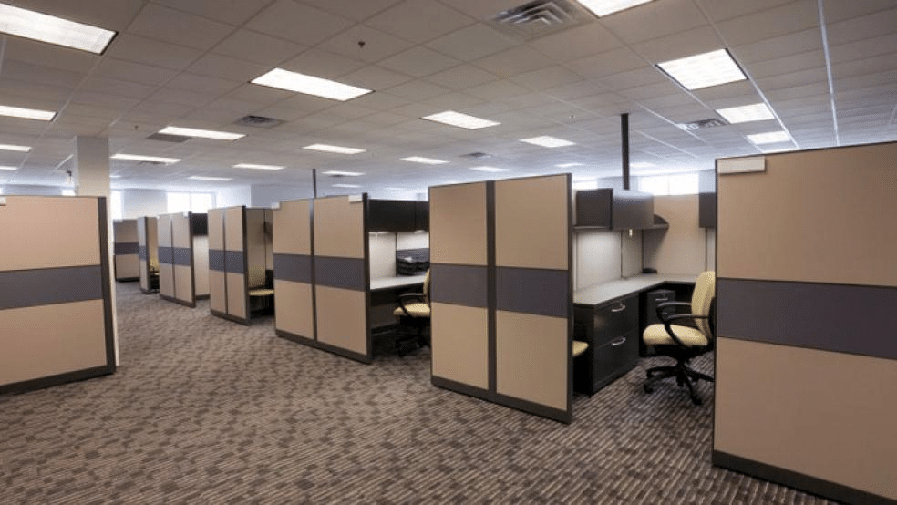 Boxed Cubicles