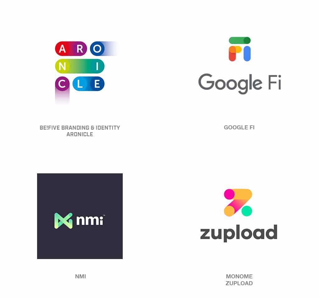 Spot Drag Logo Design Trend 2019