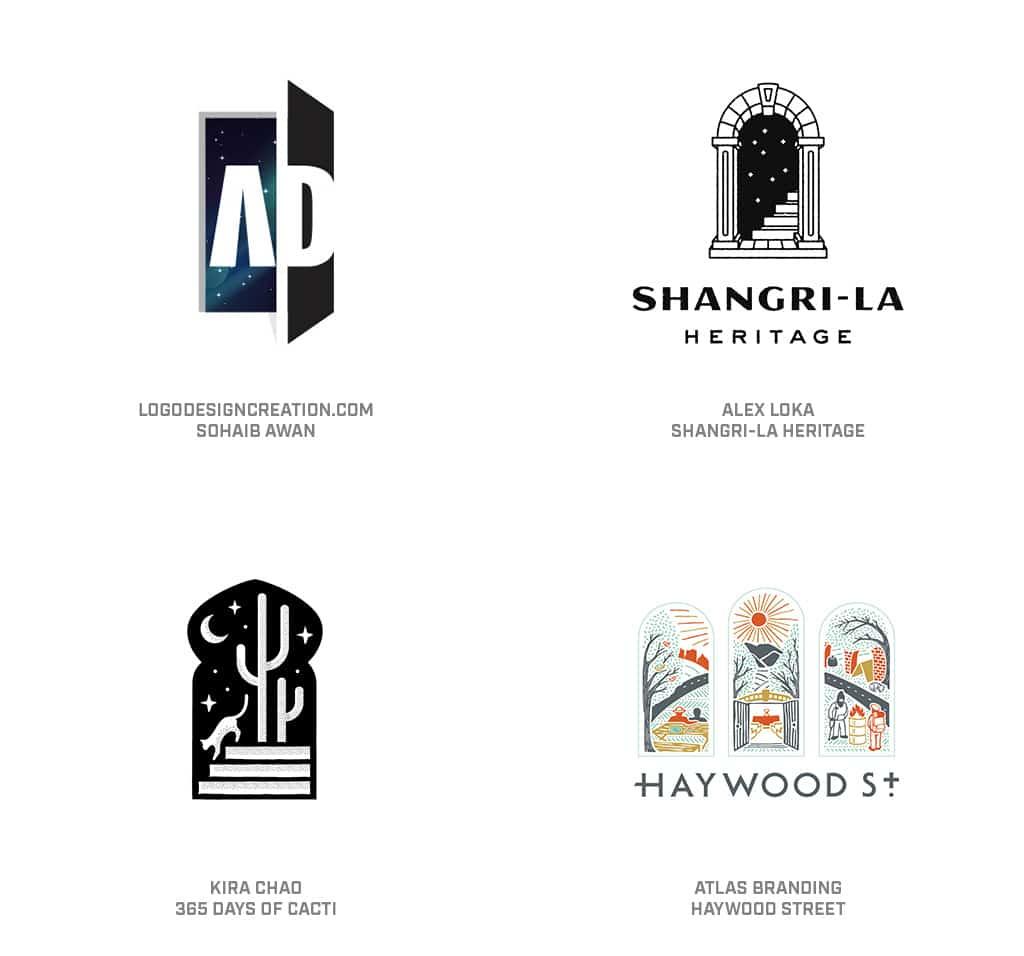 Doors Logo Design Trend 2019