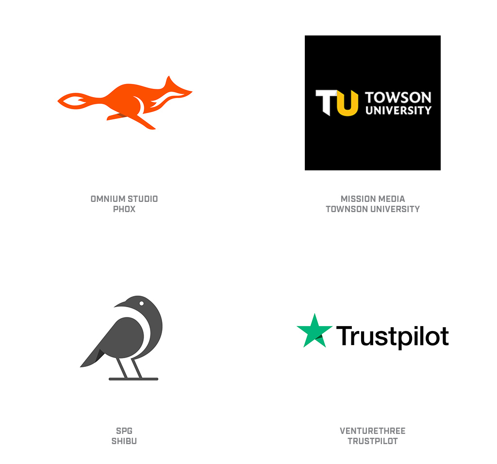 Orphan Shadows Logo Design Trend 2019