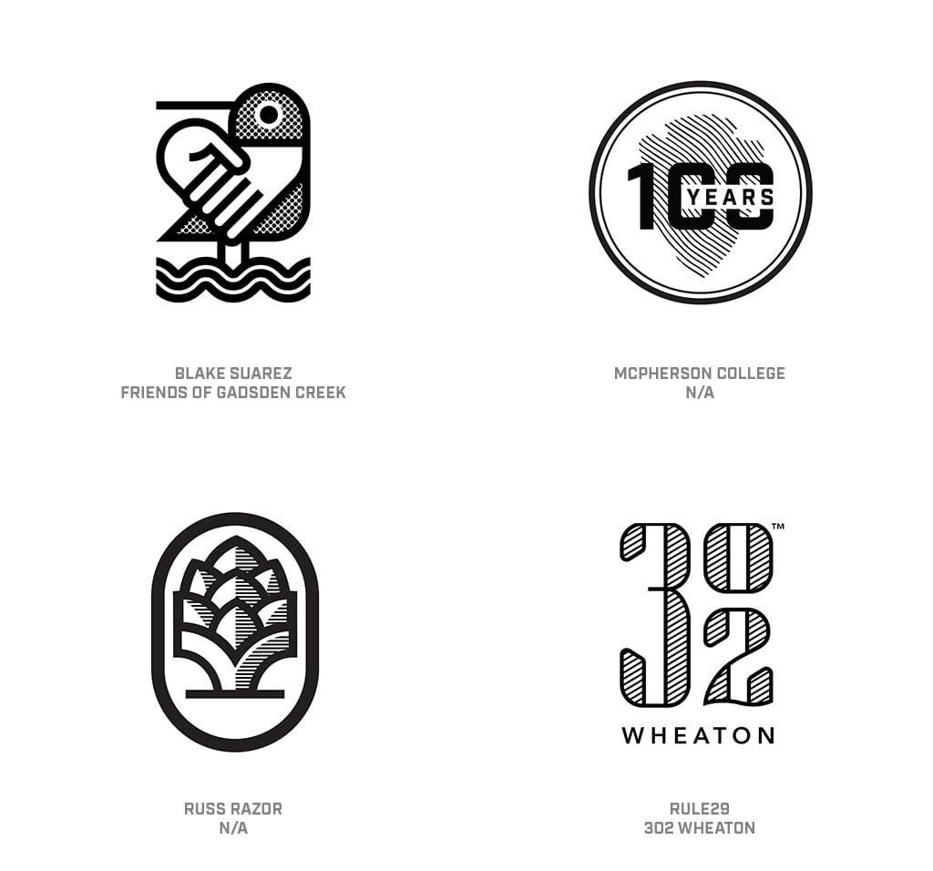 Zip Tone Logo Design Trend 2019
