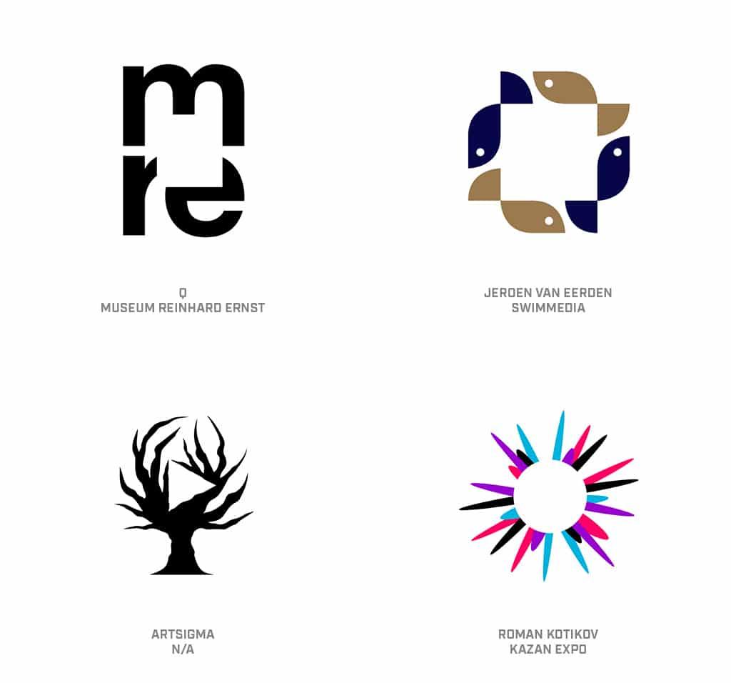 Holes Logo Design Trend 2019
