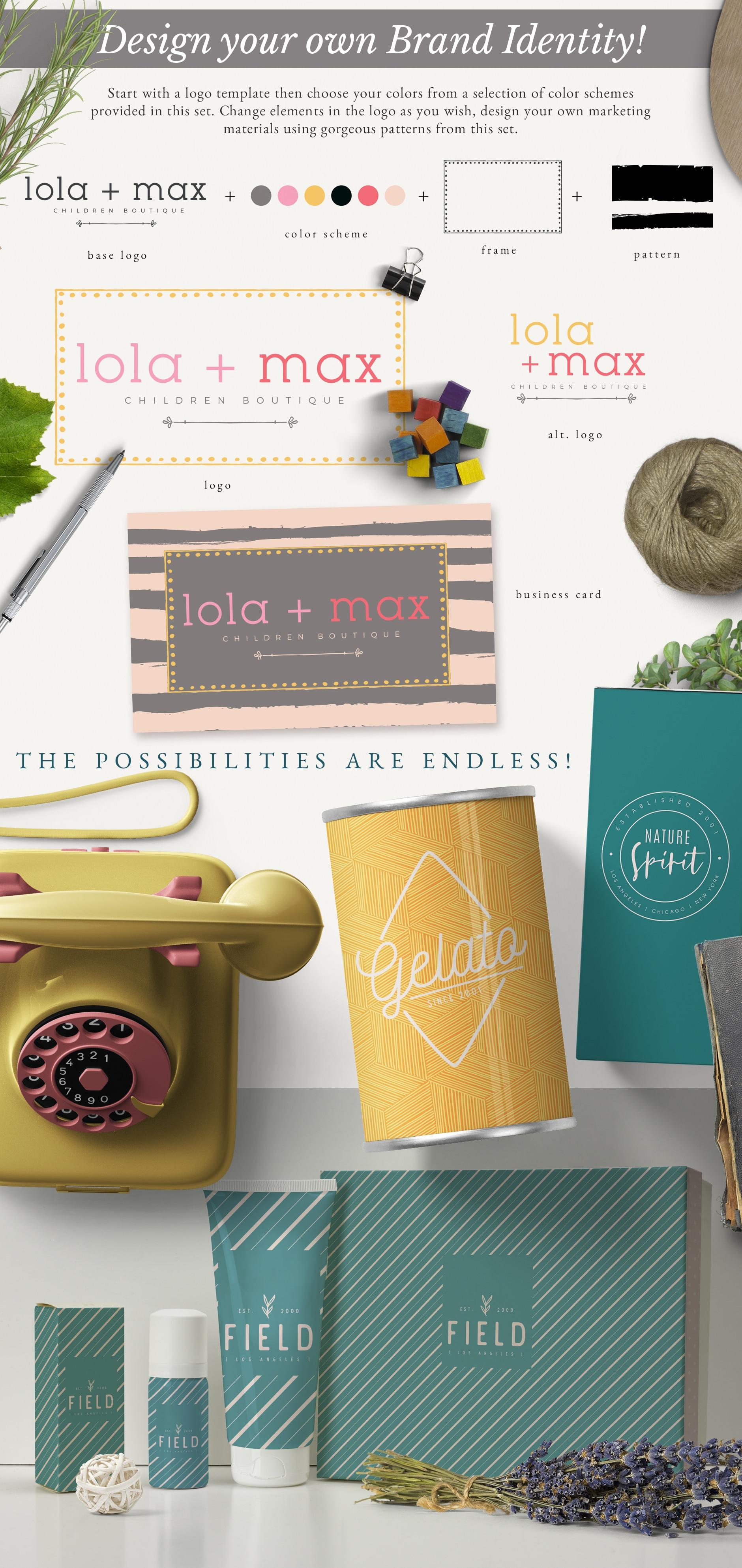 Essential Branding Kit Mockup