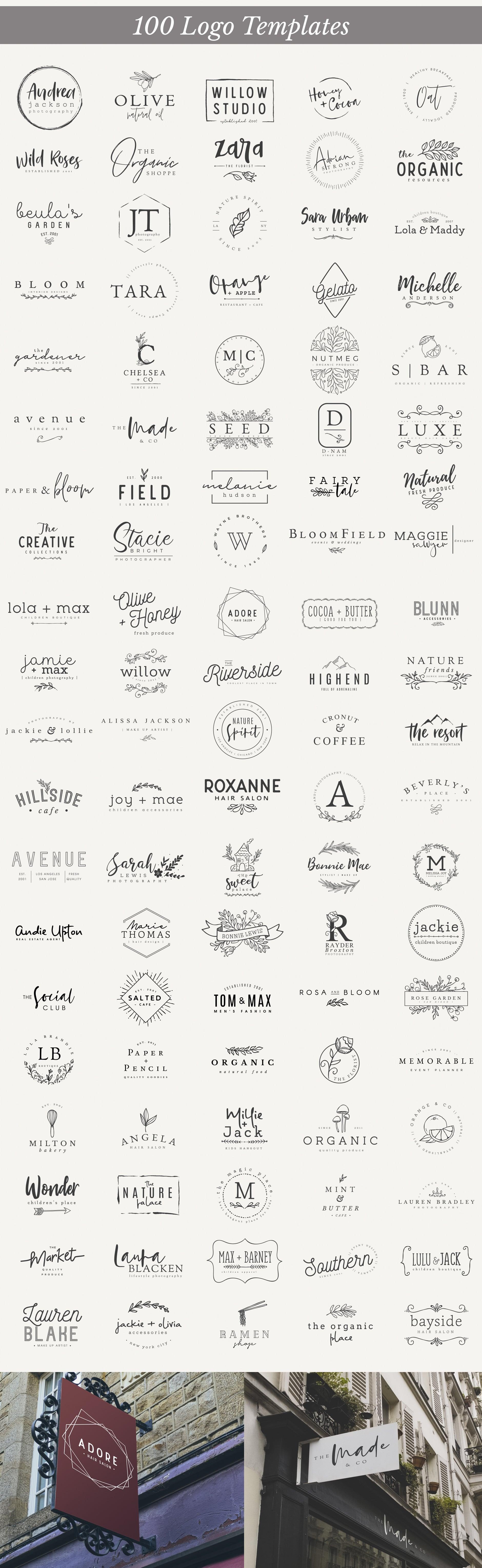 Essential Logo Branding Pack