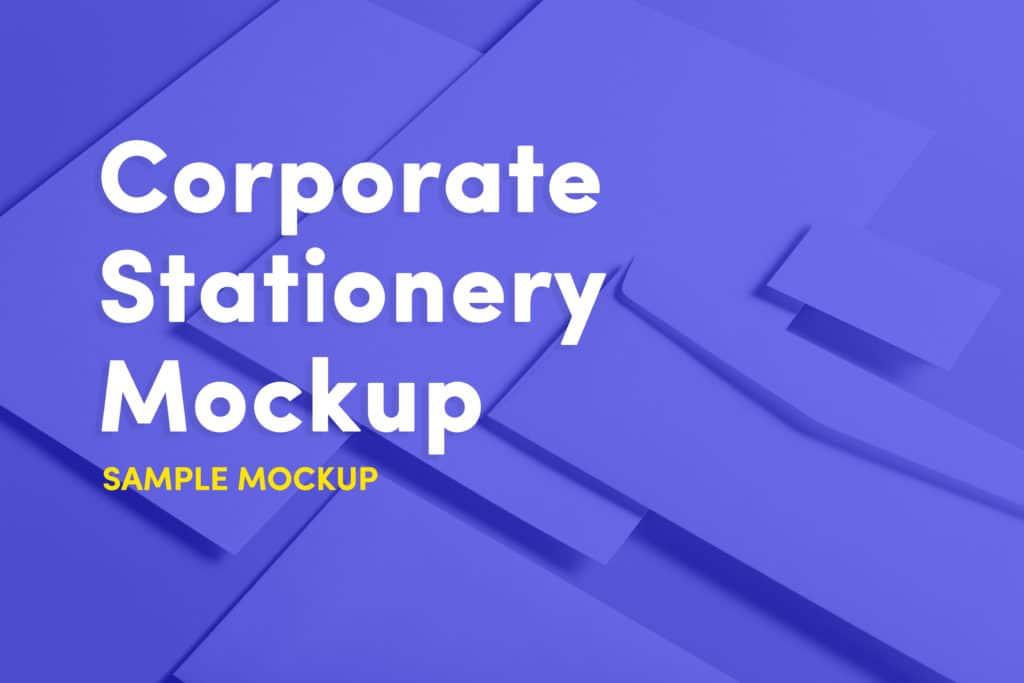 Corporate Stationery Mockup Template Pack Free Download