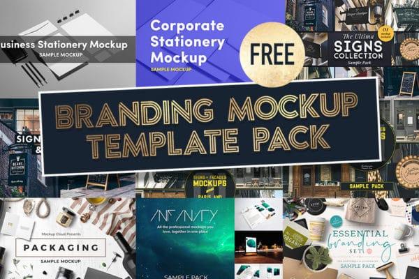 Logo & Branding Mockup Template Pack