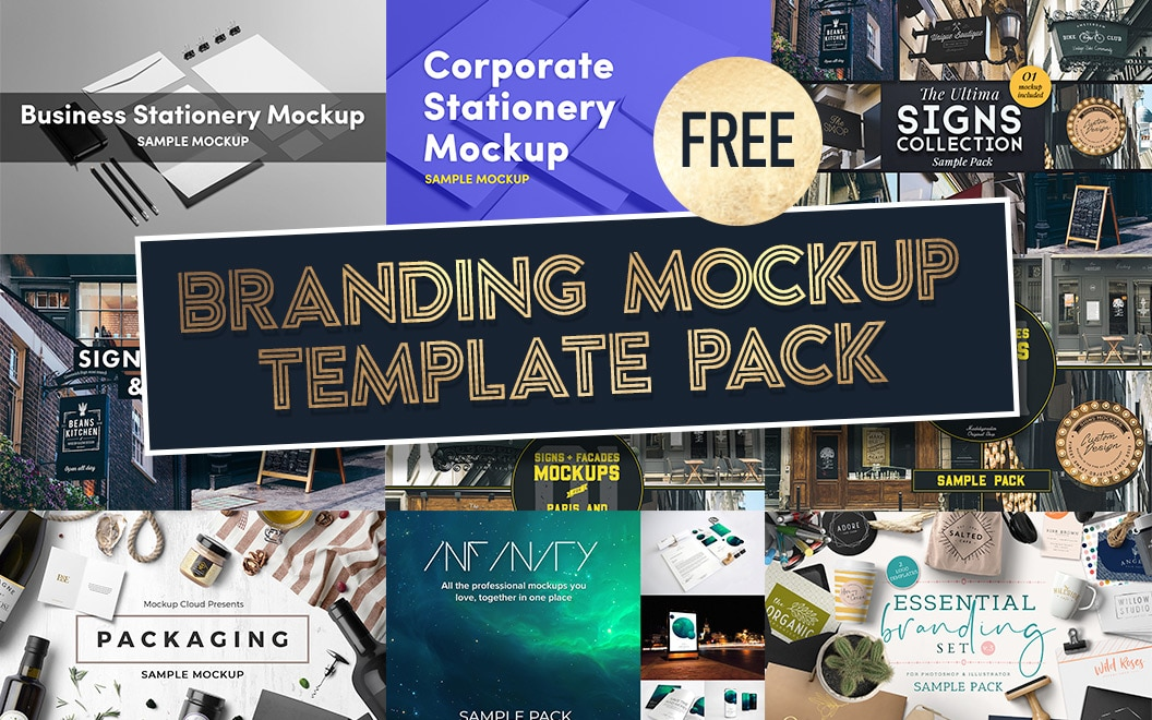 17 Best Mockup Templates For Logo Design Branding Signs Just