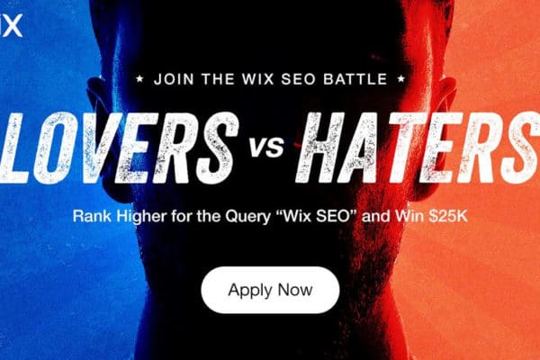 Lovers vs Haters SEO Wix Battle