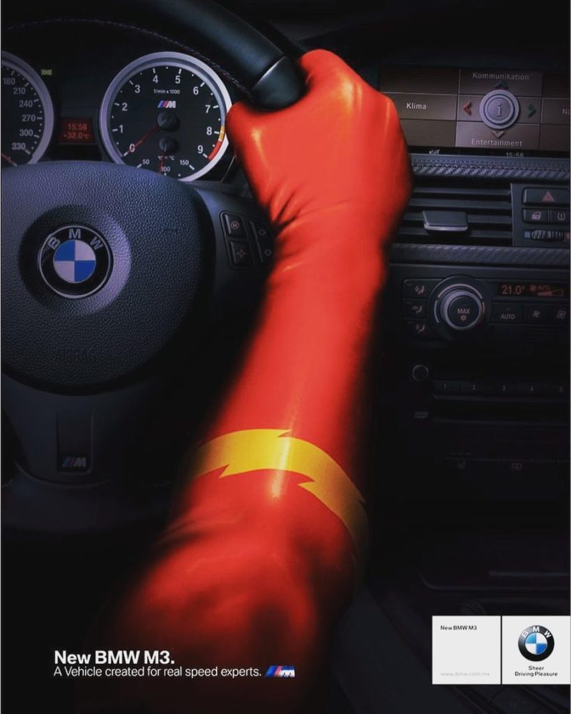 Best Creative Ad- BMW