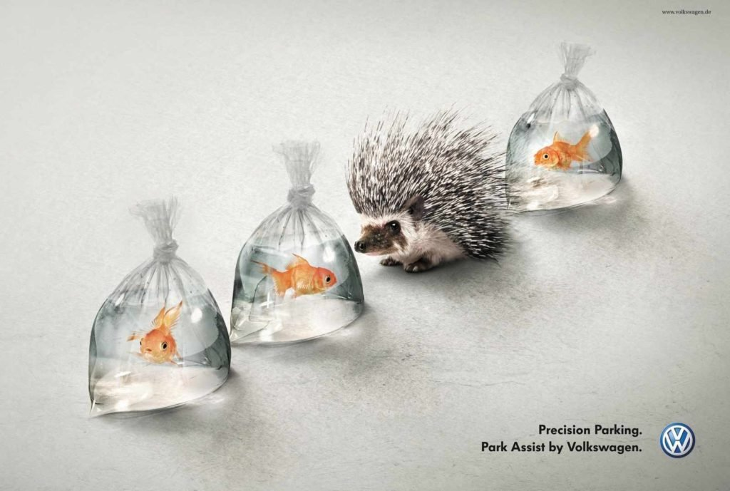 Best Print Advertising- Volkswagon