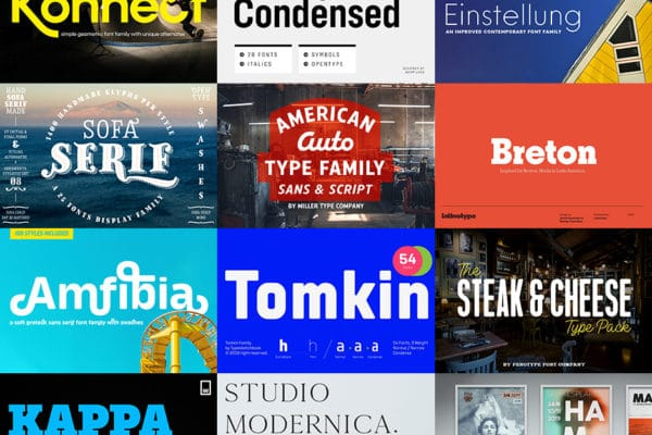 Eclectic Fonts Bundle