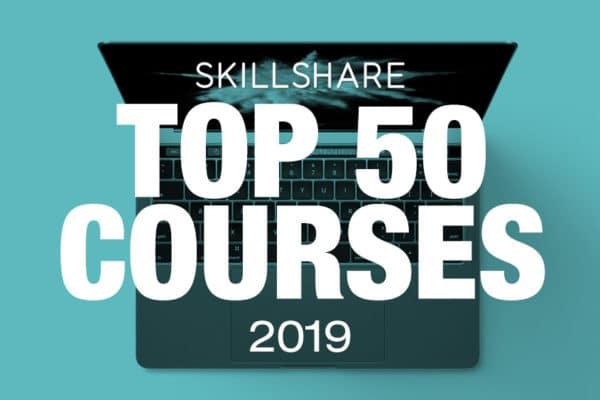 Top 50 Courses on SkillShare