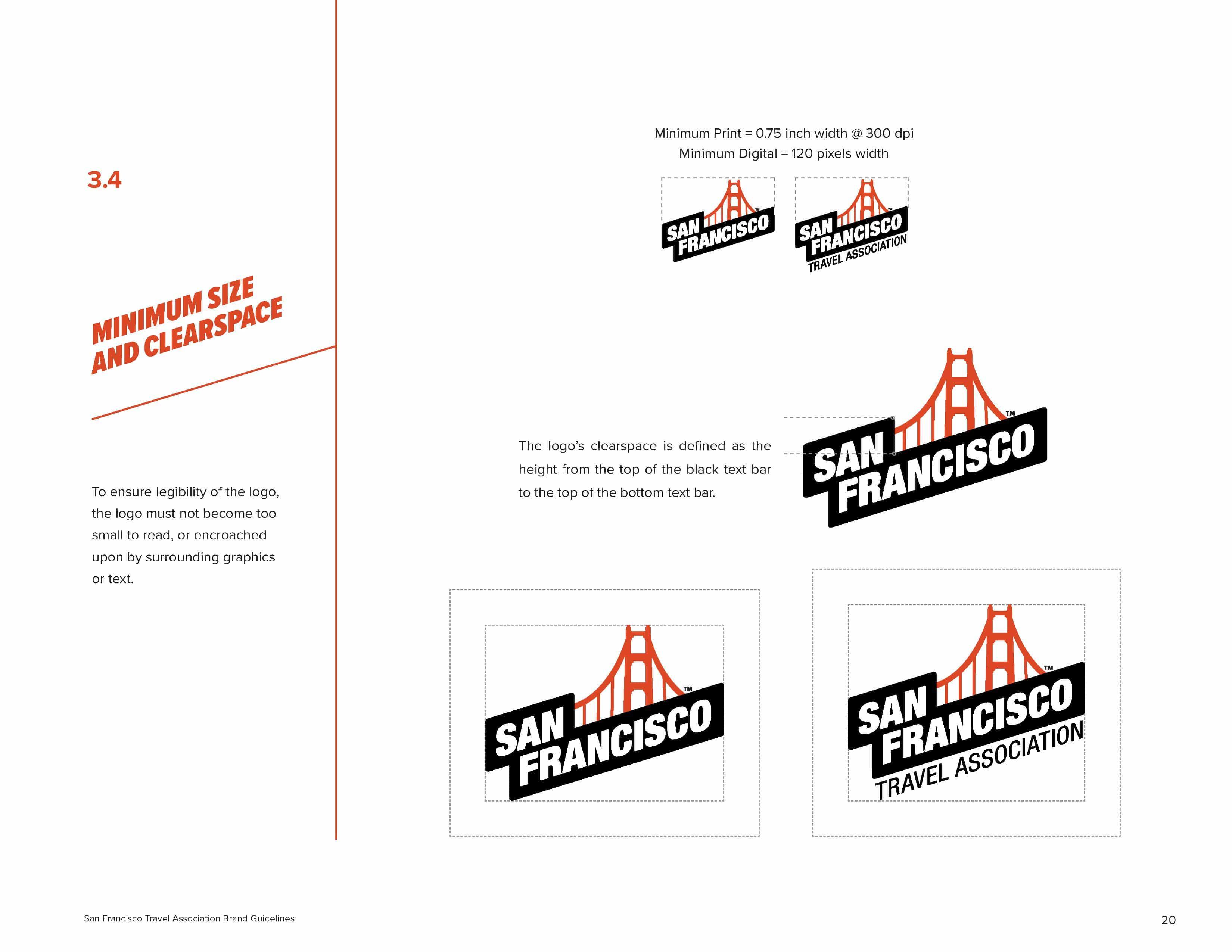 San Francisco Brand Book - Logo Space