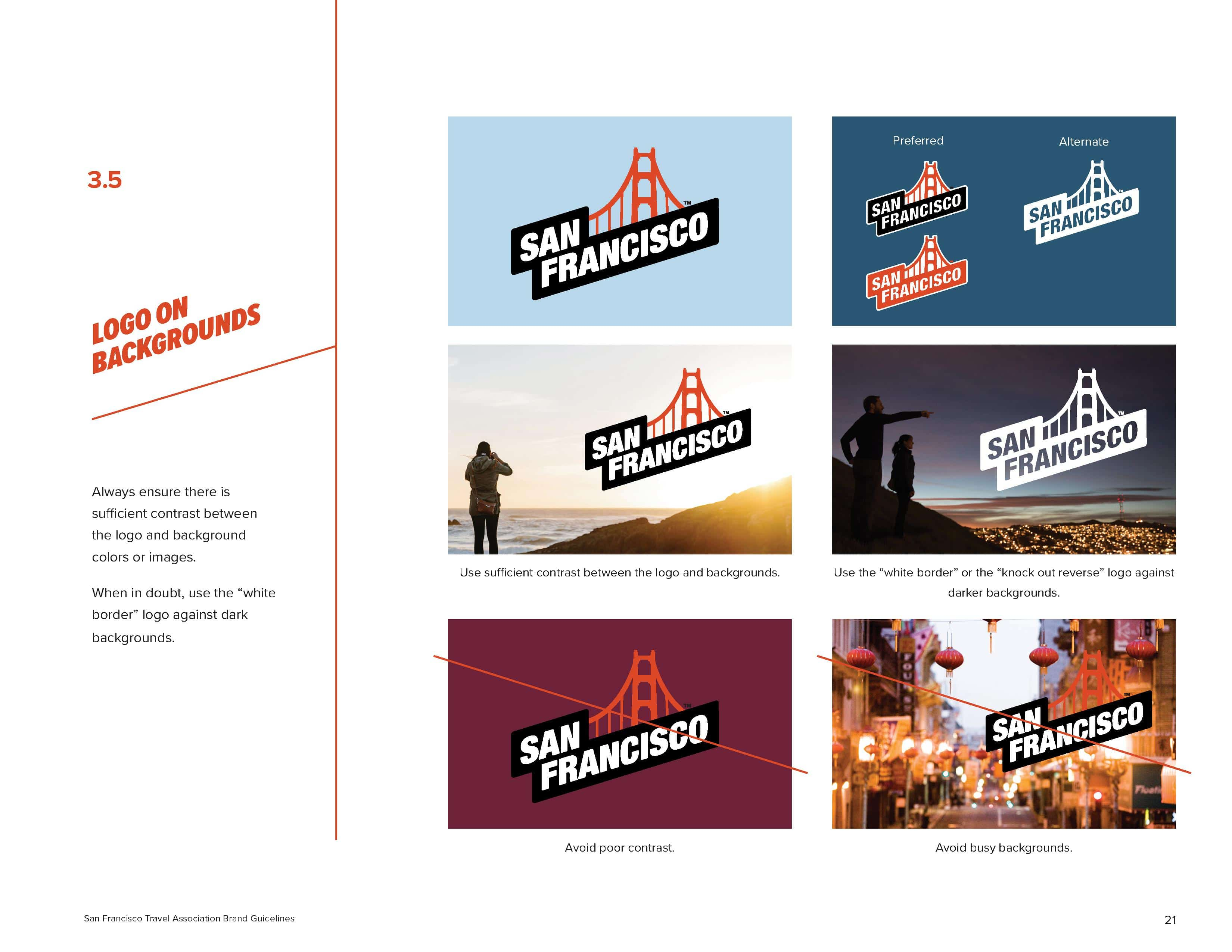 San Francisco Brand Book - Logo Placement