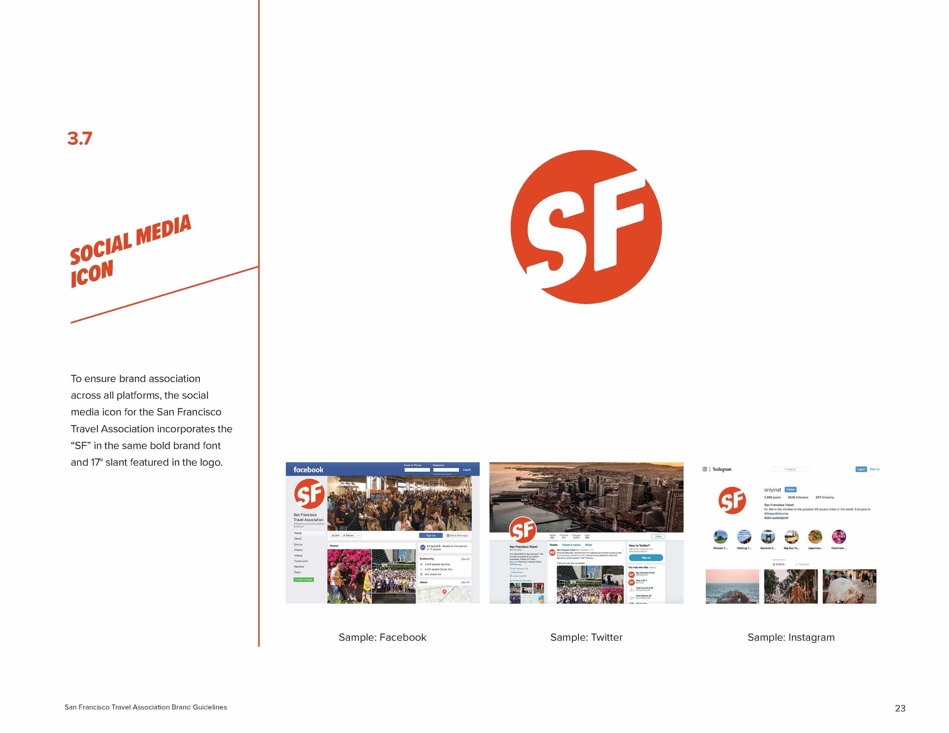 San Francisco Brand Book - Social media Logos