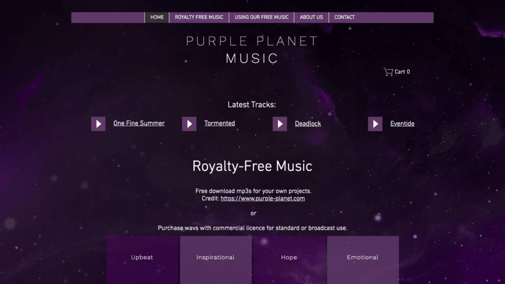 Purple Planet Music