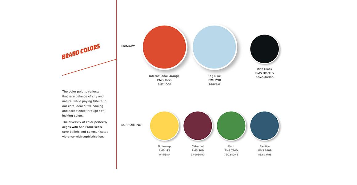 San Francisco Brand Colors