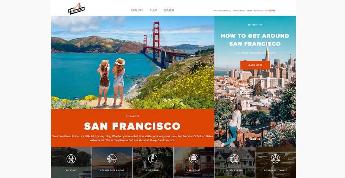 San Francisco Website