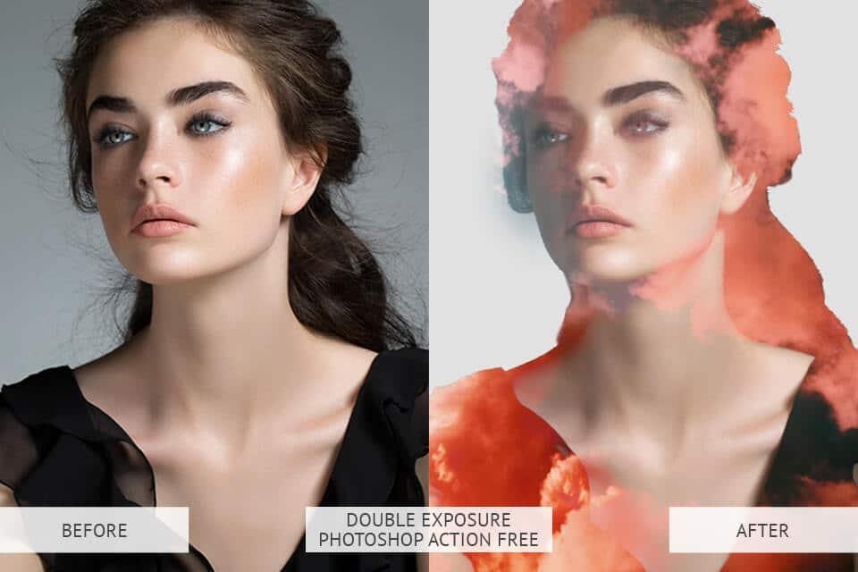 Double Exposure Photoshop Action Free