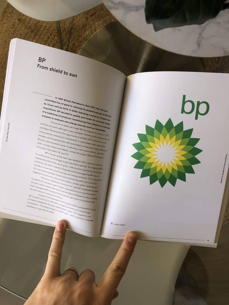 Logo Design Idea Book - BP Logo