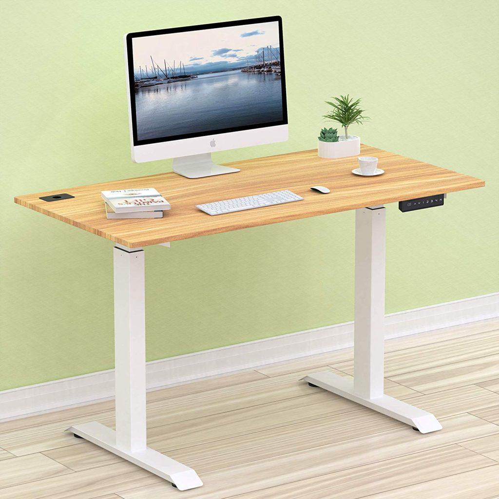"SHW Electric 48"" Desk - The best budget-friendly standing desk"