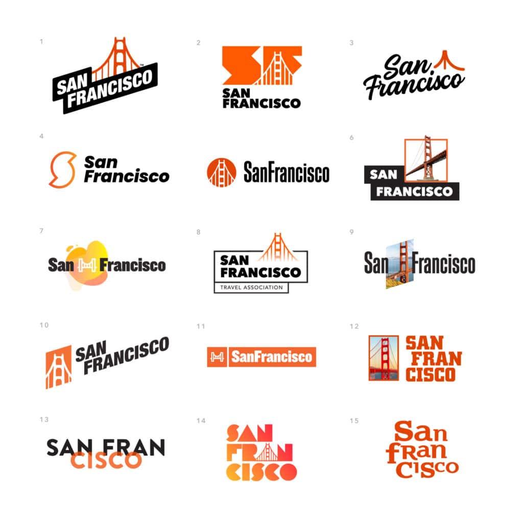 San Francisco Logo Concepts
