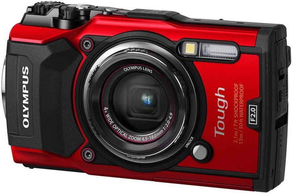 Olympus Stylus Tough TG5 - Best underwater camera for beginners